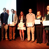 Chronicle Achievement Program award winners for the month of April were honored during a ceremony Wednesday at the Fox Valley Repertory in St. Charles. The CAP awards are sponsored by the Kane County Chronicle and KCT Credit Union.
