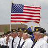Members of the Sugar Grove American Legion Stand at attention during the Healing Field Memorial Day Ceremony at Kaneland High School in Maple Park, IL on Monday,May 26, 2014 (Sean King for Shaw Media)