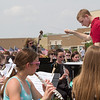 Kaneland Student John Briggs conducts the Kaneland High School Band prior to the start of the Healing Field Memorial Day Ceremony at Kaneland High School in Maple Park, IL on Monday,May 26, 2014 (Sean King for Shaw Media)