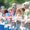Family and Friends for both Rosary and Kaneland watch as they compete during the Rosary Girls 2A Regional Final<br /> at Rosary High School in Aurora, IL on Saturday, May 24, 2014 (Sean King for Shaw Media)