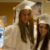 Geneva High School graduates Jordan Schmidt (Left) and Sabrina Huber pose for a photo prior to the school's commencement ceremony at Geneva High School in Geneva, IL on Sunday, May 25, 2014 (Sean King for Shaw Media)
