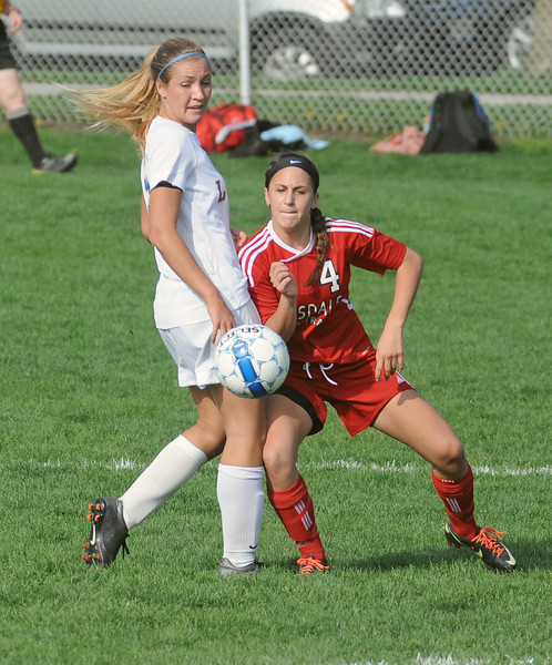 Hinsdale Central at Lyons Township girls soccer