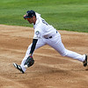 Kane County Cougars second baseman Joe Munoz (11) scoops up a grounder for an out against the Fort Wayne TinCaps at Fifth Third Bank Ballpark in Geneva, IL on Saturday, May 07, 2016 (Sean King for Shaw Media)