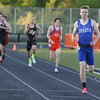 Geneva's Brian Kuehl takes second place in the 800 meter run during the 3A sectional track and field meet at Metea Valley High School in Aurora May 19.