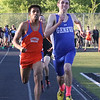 Geneva's Josh Rodgers takes first place in the 3200 meter run during the 3A sectional track and field meet at Metea Valley High School in Aurora May 19.