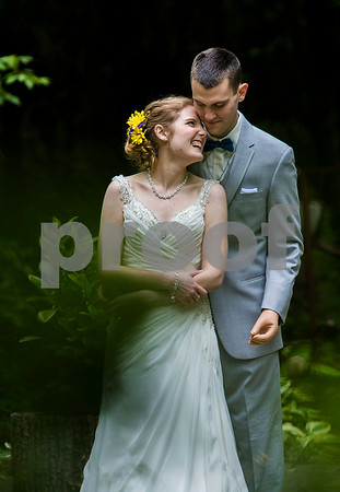 Danielle Guerra - dguerra@shawmedia.com                                                                              <br /> Newlyweds Ethan Menges and Jordan Mathieu pose for photos at the Klehm Arboretum in Rockford before thier reception after they were married on Saturday, May 14, 2016. Sixteen months ago, Menges was in a coma and through his recovery had his limbs amputated. Menges asked Mathieu to marry him while in the last portion of his hospital stay five months ago.
