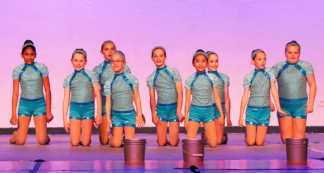 """Candace H. Johnson The Junior Dance Company dances to """"Car Wash"""" during the Mundelein's Got Talent dance recital presented by the Mundelein Park District at Mundelein High School."""
