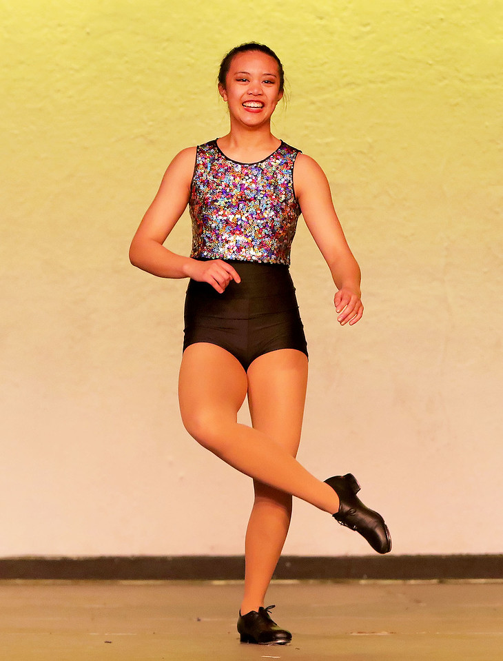 "Candace H. Johnson Dayna Teemer, 14, of Mundelein dances to ""Now (I Want to Move)"" during the Mundelein's Got Talent dance recital presented by the Mundelein Park District at Mundelein High School."
