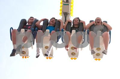 During Taste of Glen Ellyn carnaval attendees enjoy a ride Saturday afternoon. David Toney for Shaw Media
