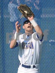 Wheaton North outfielder Zach Colangelo makes a catch during their game against Nequa Valley Friday May 6 in Wheaton. Mark Busch - mbusch@shawmedia.com