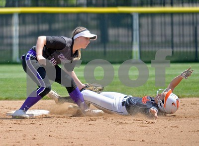 Downers Grove North softball in regional