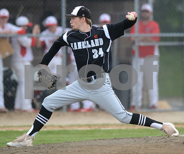 Kaneland senior 	Josh Polllastrini delivers a pitch during the game May 9 against Yorkville at Yorkville High School. Mark Busch - mbusch@shawmedia.com