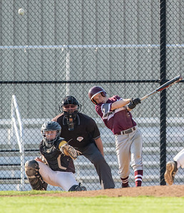 Prairie Ridge's Hunter Jacob Reichert drives in two runs Monday, May 7, 2018 against Jacobs in Algonquin. Prairie Ridge takes the win 12-6. KKoontz- For Shaw Media