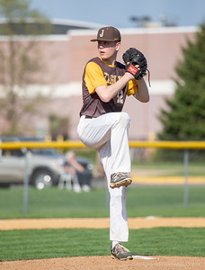 Jacobs' Justin Lavrisa starts on the mound Monday, May 7, 2018 against Prairie Ridge in Algonquin. Prairie Ridge takes the win 12-6. KKoontz- For Shaw Media