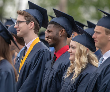 Students from Cary-Grove High School during the graduation ceremony Saturday, May 19, 2018 in Cary.  KKoontz- For Shaw Media
