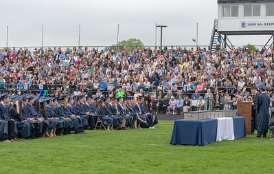 Students from Cary-Grove High School participate in the graduation ceremony Saturday, May 19, 2018 in Cary.  KKoontz- For Shaw Media