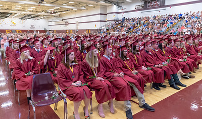 Richmond-Burton's class of 2018 graduation ceremony Sunday, May 27, 2018 in Richmond.  KKoontz – For Shaw Media