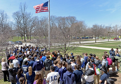 National School Walkout and Prayer Service at IC Catholic