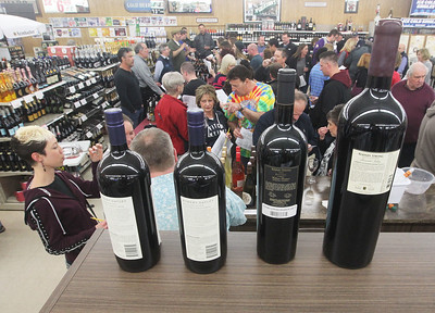 Candace H. Johnson-For Shaw Media The 33rd Annual Spring Wine Tasting at Antioch Fine Wine & Liquors in Antioch. Over 120 wines were sampled at the free event. (4/27/19)