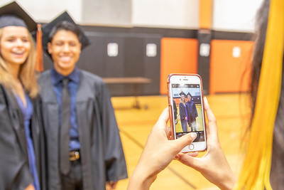 Photos were taken and shared on social media prior to the start of the Class of 2019 Crystal Lake Central Commencement Ceremony held Saturday, May 18, 2019 in Crystal Lake.