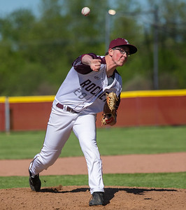 Richmond-Burton's Connor Donohoe got the start against Marengo in the first-round sectional game Thursday, May 23, 2019 in Richmond. Richmond went on to win 5-4 and will face Carmel on Saturday. KKoontz – For Shaw Media