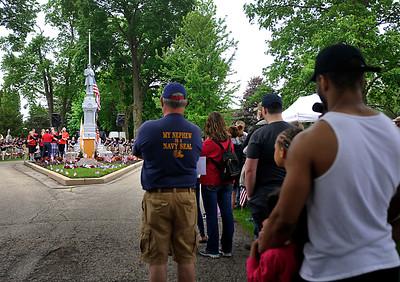 Crystal Lake Memorial Day Parade and Service