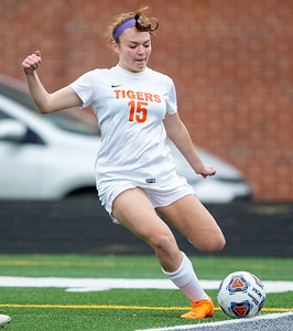 Crystal Lake Central junior Grace Rokos scores a goal in the third minute of the IHSA Class 2A Supersectional game against Wauconda Tuesday, May 28, 2019 in Grayslake. It would be the only goal that the Tigers would score as they fall to Wauconda 2-1. KKoontz – For Shaw Media