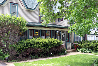 Candace H. Johnson-For Shaw Media  The Dragonfly Bed and Breakfast on Main Street in downtown Antioch. The house was built in 1885. (5/28/19)