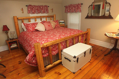 Candace H. Johnson-For Shaw Media The Harbor Suite is one of the bedrooms offered at the Dragonfly Bed and Breakfast on Main Street in downtown Antioch. (5/28/19)