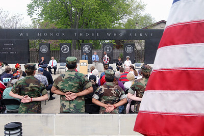 Candace H. Johnson-For Shaw Media The Memorial Day Ceremony at the Lindenhurst Veterans Memorial.  (5/27/19)