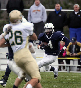 Jeff Krage – For the Northwest Herald Cary-Grove's Ryan Mahoney returns a kickoff during Saturday's IHSA class 6A second-round playoff game against St. Patrick. Cary 11/3/12