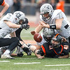 Kaneland's Bradley Johnson (79) recovers a fumble by Lincoln-Way West at Lincoln-Way West  in New Lenox , IL on Saturday, November 03, 2012  (Sean King for the Kane County Chronicle)