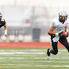 Kaneland's Dylan Nauert (20) runs for extra yards after the catch against Lincoln-Way West at  in , IL on Saturday, November  03, 2012  (Sean King for the Kane County Chronicle)