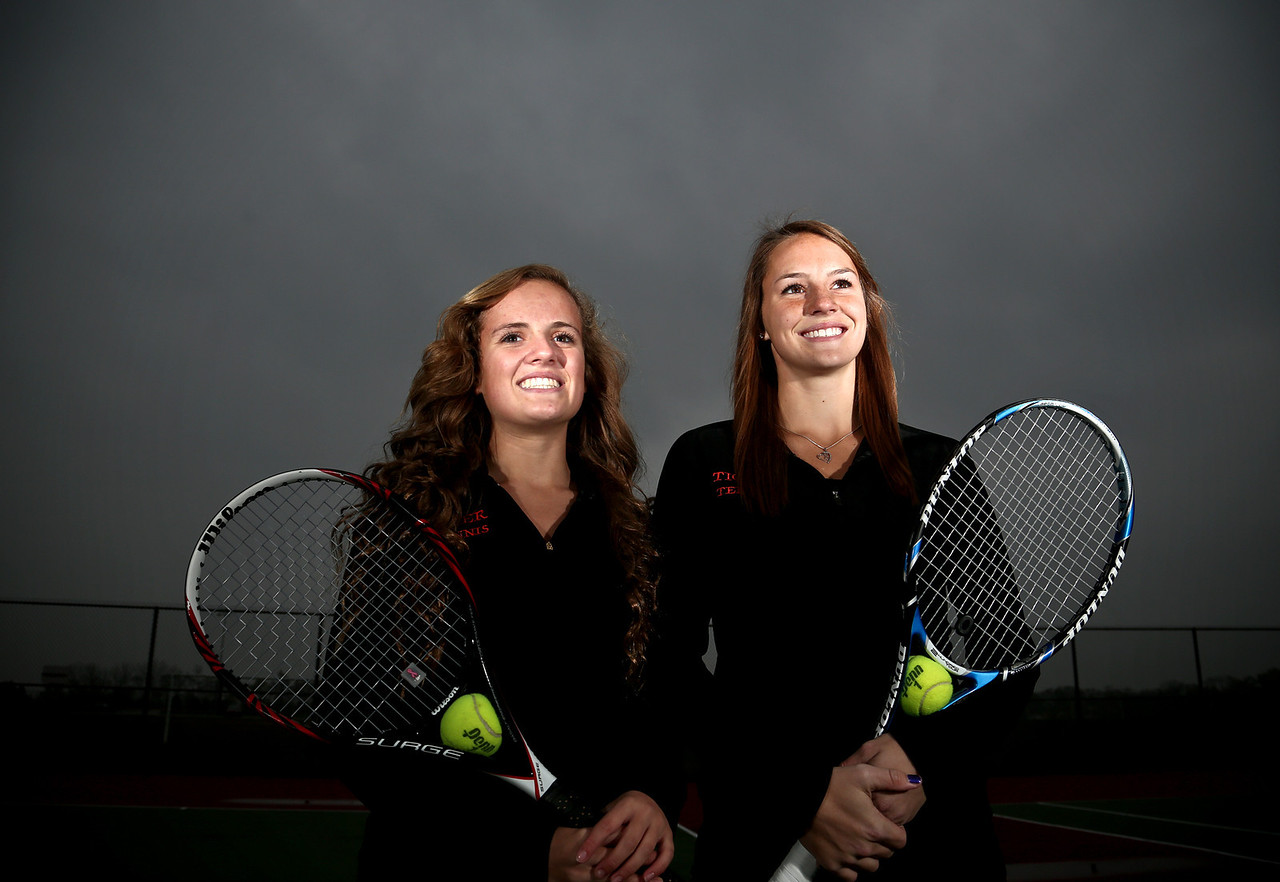 Josh Peckler - Jpeckler@shawmedia.com Crystal Lake Central girls tennis players Jillian Wallace (left) and Evelyn Youel are the 2012 Girls Tennis Co-Players of the Year.