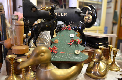 Monica Maschak - mmaschak@shawmedia.com Holiday items can now be found at the Ridgefield antique shops since the kick-off of their Kris Kringle Days event on November 23, 2012.