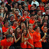 St. Charles East fans cheer on their team during their Ron Johnson tournament game against town rivals St. Charles North Saturday Nov. 24, 2012. St. Charles East defeated St. Charles North 61/42. Staff photo by Erica Benson