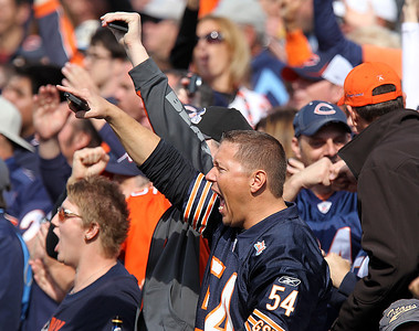 H. Rick Bamman - hbamman@shawmedia.com Bears's fans react in the first quarter Sunday November 4, 2012 in Nashville.