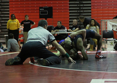 Bolingbrook meets Lincoln-Way East on the mat