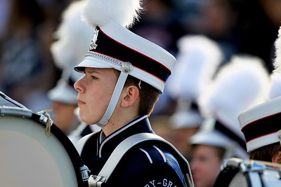 Sarah Nader - snader@shawmedia.com The Cary-Grove band performs during half time at Saturday's 6A quarterfinal football game against Crystal Lake Central in Cary on November 10, 2012. Cary-Grove won, 7-0.