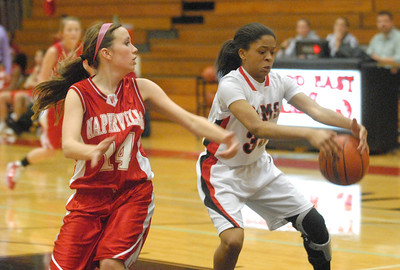 Glenbard East girls basketball