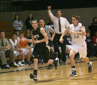 Glenbard North vs West Chicago boys basketball