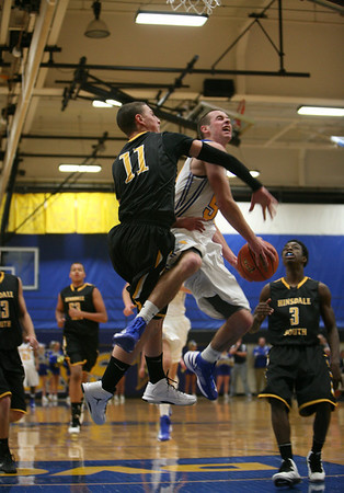 Hinsdale South @ Wheaton North, boys basketball
