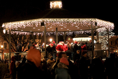 Sarah Nader - snader@shawmedia.com The Lighting of the Square in Woodstock was held on Friday, November 23, 2012. The event brings out a crowd of nearly 2,000 every year.