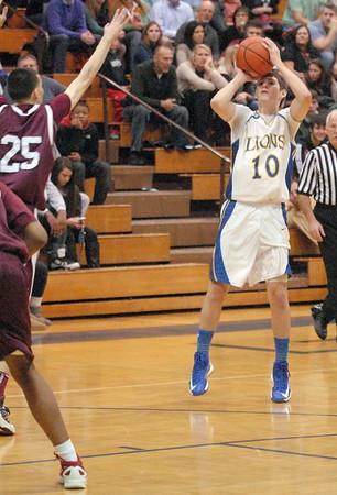 Morton at LT basketball