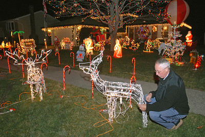 Rohrbach's Christmas decorations fill yard