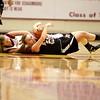 St. Charles East's Amanda Hilton scrambles for the ball during their Schaumburg Thanksgiving Girls Basketball Tournament game against Schaumburg Tuesday night.(Sandy Bressner photo)