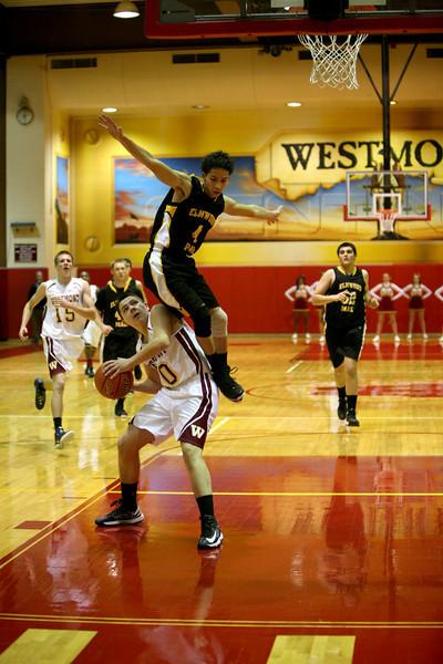 Westmont takes on Elmwood Park in boys basketball
