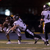 Kaneland's defensive back JR Vest (3) successfully defends against Joliet Catholic's Jordan Jones (8) preventing a catch in the end zone at Joliet Memorial Stadium in Joliet, IL on Saturday, November 09, 2013 (Sean King for Shaw Media)