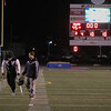 Injured Kaneland's quarterback Drew David (left) leaves the field after a season ending 45 - 8 loss to Joliet Catholic  at Joliet Memorial Stadium in Joliet, IL on Saturday, November 09, 2013 (Sean King for Shaw Media)