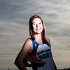 St. Charles North's Ashley England is the Kane County Chronicle Girls Cross Country Runner of the Year.